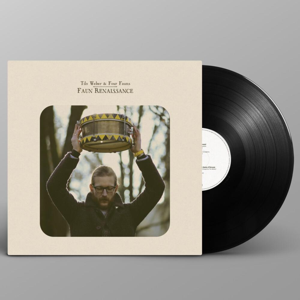 Tilo Weber & Four Fauns + Vinyl mm 007 Faun Renaissance LP square cover Photo by Oliver Potratz